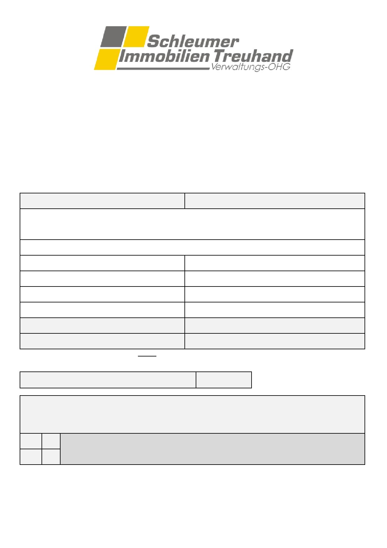 datenblatt mieter hausverwaltung k ln. Black Bedroom Furniture Sets. Home Design Ideas