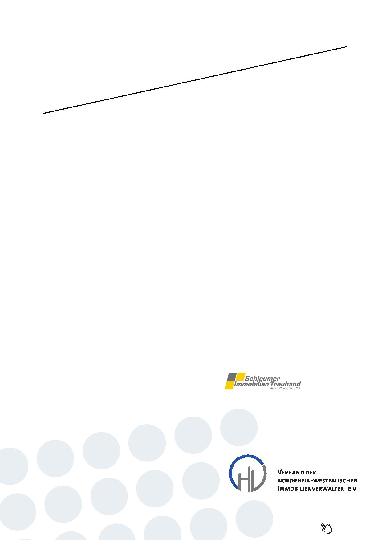 Weg Verwaltervertrag 2013 Muster Hausverwaltung Köln